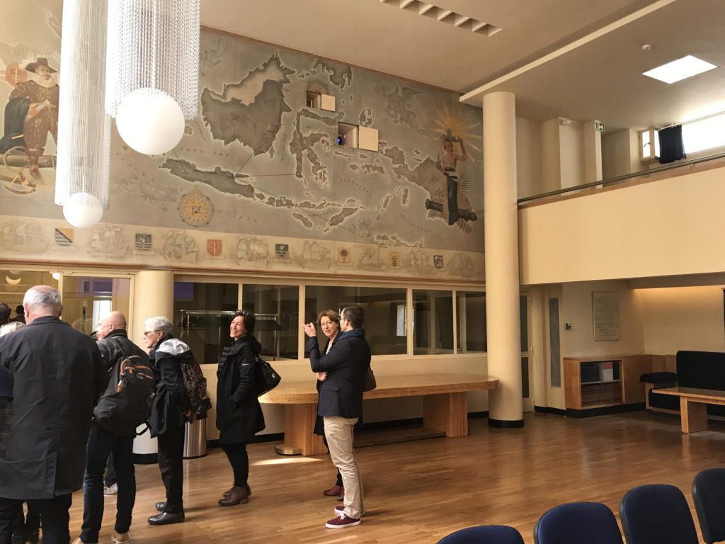 Hall d'entrée fondation Lucien Paye cité U